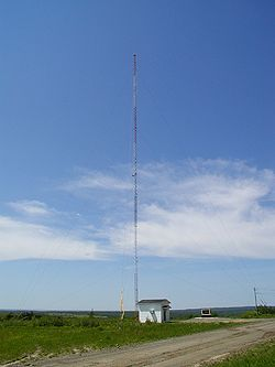 CFB Gagetown Petersville tower 2002.JPG